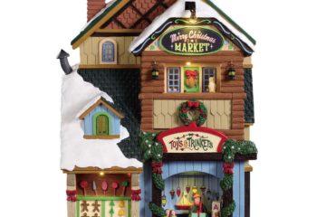Lemax 95471 Merry Christmas Market