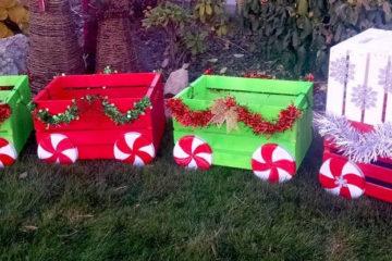 Idea Natale Come Realizzare un Treno Nataloso