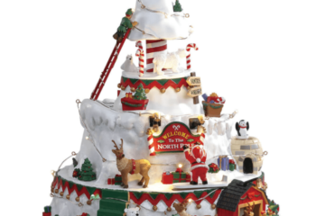 Lemax North Pole Tower