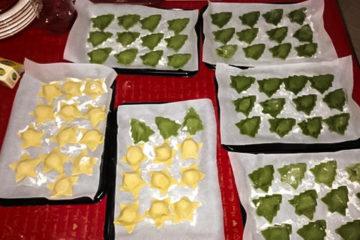 Ricetta Ravioli di Natale Bicolore