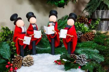 Idea Natale Realizzare Cantori di Natale