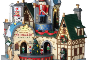 Lemax Ludwig's Wooden Nutcracker Factory