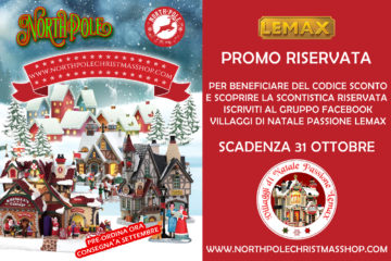 Codice Sconto Lemax North Pole Christmas Decorations