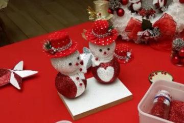 Idee Diy Natale Snowman