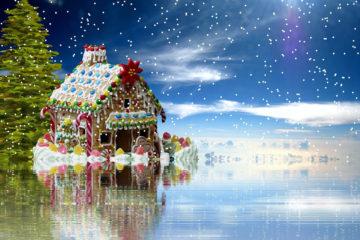 Casetta di Natale Pan di Zenzero