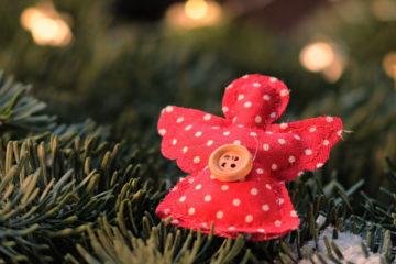 Realizzare Angioletti di Natale