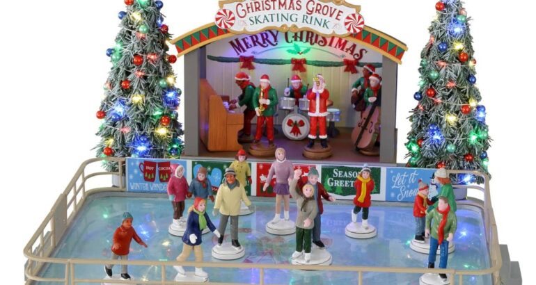 Christmas Grove Skating Rink – Michaels Exclusive