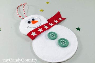 Diy Idee Natale Pupazzo di Neve