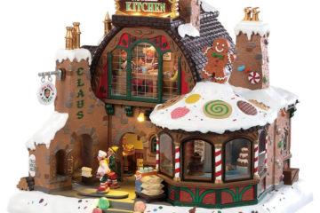 Lemax Mrs Claus' Kitchen