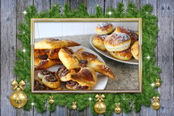 Natale Tre Dolci Facili con la Pasta Sfoglia
