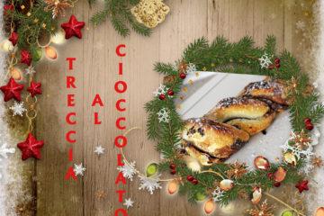 Natale Ricetta Treccia al Cioccolato