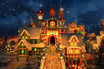 Santa's Castle Christmas Video