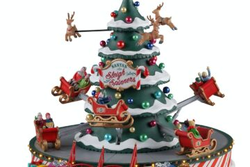 New Lemax 2021 – Santa's Sleigh Spinners